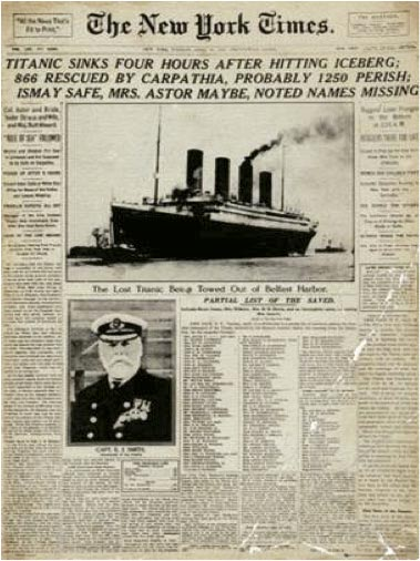 Portada de The New York Times con noticia